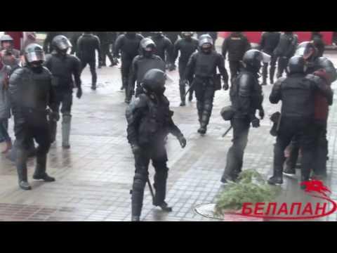 День Воли в Минске завершился массовыми задержаниями