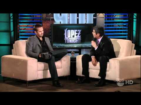 Paul Walker & Jesse Brisendine Appear on George Lopez (w/ special intro)