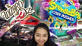 Wizard of Oz & Spongebob Squarepants - Coin Pushers