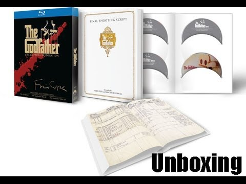 Unboxing - The Godfather The Coppola Restoration