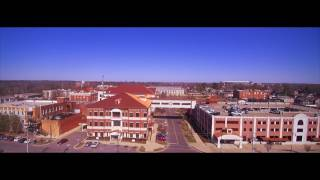 Downtown Tuscaloosa Drone Test Flight