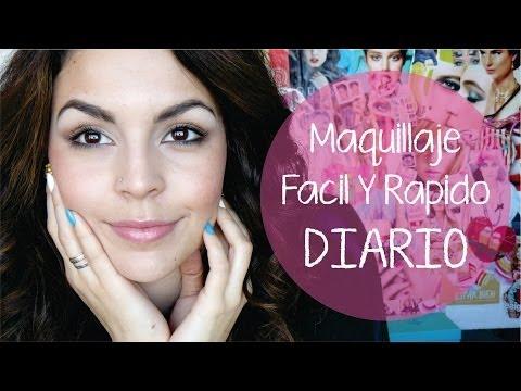 Get ready whiy me ♥ Maquillaje diario para PRINCIPIANTES! Super fácil!
