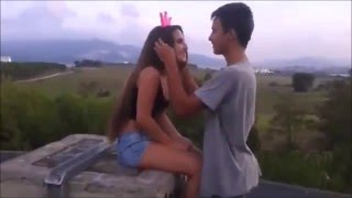 Cute Relationship - Boyfriend And Girlfriend Real Love