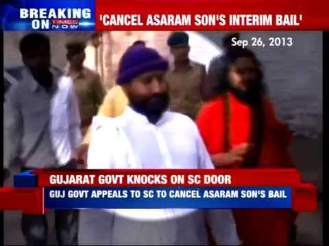 Gujarat Government to Supreme Court: Cancel's Asaram son's bail