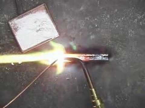 Brazing with Copper Wire