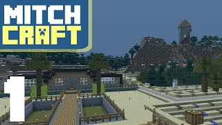 Getting Started with a Wheat Farm - Mitch Plays Minecraft - Ep1