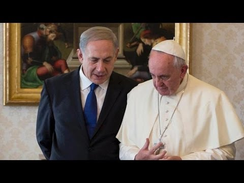Pope Francis & Netanyahu MEET re: MIDEAST PEACE ::. (News 12/2/13/*Major Bible Prophecy)