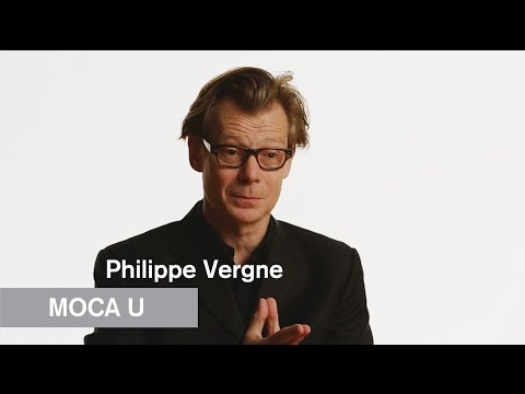 Mike Kelley - Philippe Vergne - MOCA U - MOCAtv