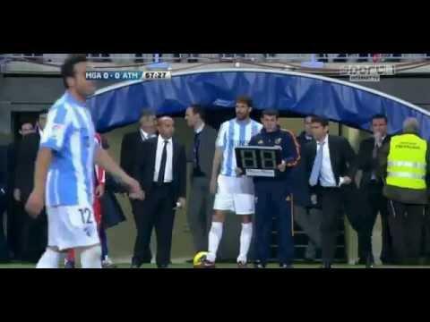 Malaga-Atletico Madrid [0-0]Liga BBVA (7-1-2012)