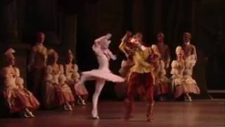 Puss in boots and white cat dans le ballet royal