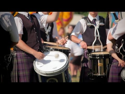 Highland games in Scotland