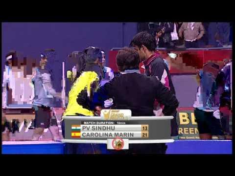 P. V. Sindhu vs Carolina Marin |WS| SF-Match 5 -Syed Modi Int'l Badminton Championships 2015