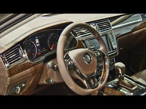 2017 Volkswagen Phideon - Interior and Exterior Walkaround