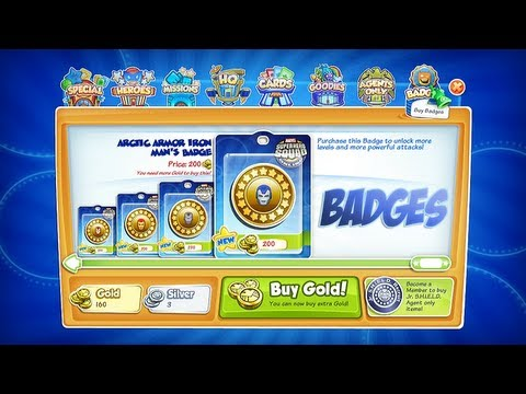 Marvel Super Hero Squad Online Hero Badges- HD