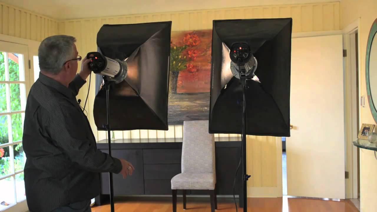 Clamshell Lighting Setup Clamshell Lighting