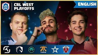 Clash Royale League: CRL West 2019 | The Playoffs! (English)