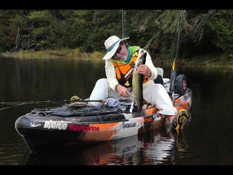 Kayak Fishing Musky Mayhem