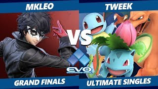 EVO 2019 Smash Ultimate Grand Finals - TSM | Tweek (Pokemon Trainer) Vs. FOX | MkLeo (Joker)