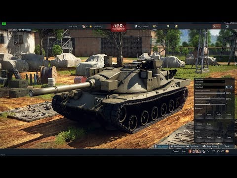 War Thunder - Finished Research On The MBT-70! (United States Rank VI Main Battle Tank)