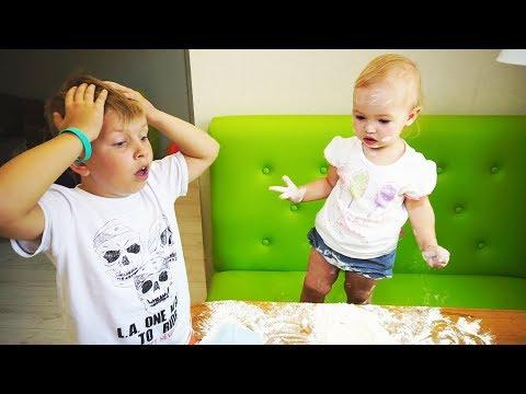 Матвей стал НЯНЕЙ для СЕСТРЫ! Что ПРОИЗОШЛО? Видео для детей Video For Kids Children Матвей Котофей