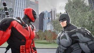 DEADPOOL VS BATMAN - DEADPOOL ULTIMATE