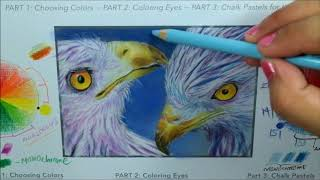 Part 3 of Choosing Colors: Coloring the Background with Chalk Pastels