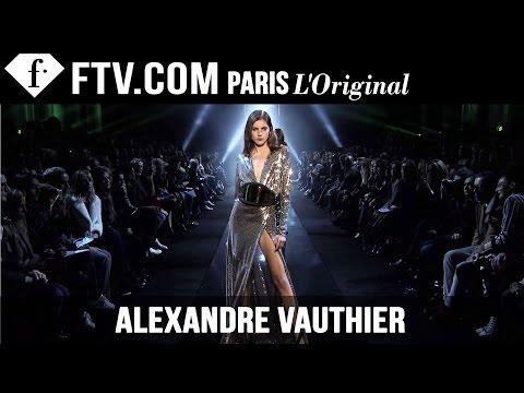 Alexandre Vauthier Spring summer 2015   Paris Couture Fashion Week   Fashiontv video