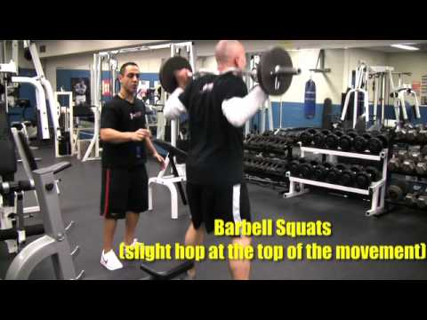 MMA Fighter Conditioning Barbell Workout Image 1