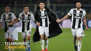 Cristiano Ronaldo empata marca de un histrico de la Juventus | Telemundo Deportes