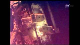 Raw: ISS (Astronauts) Tackle Urgent Repair Job   4/23/14