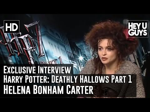 Harry Potter an the Deathly Hallows Interview - Part 1 - Helena Bonham Carter