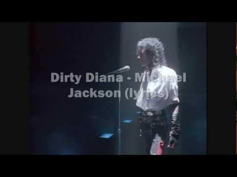 Dirty diana - Michael Jackson (lyrics)