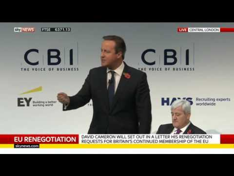 Brexit:  Cameron Says we would do OK outside the EU