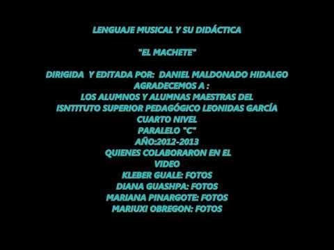 musica montubia ecuatoriana  el machete