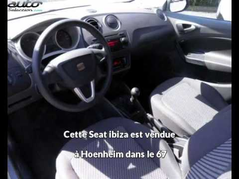 Seat ibiza occasion visible à Hoenheim présentée par Paul kroely sport 67
