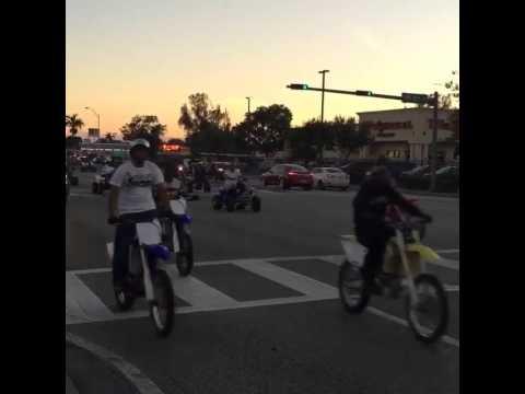 Bikes Up Guns Down Miami Bike s up guns down