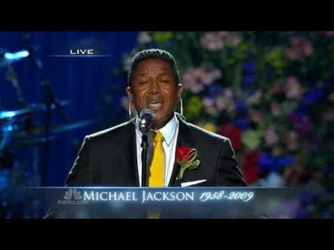 Jermaine Jackson tearfully performs