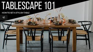 Tablescape 101: How To Design & Set a Stylish Wedding Table