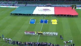 MEXICO VS COSTA RICA  2 -  0 Eliminatorias Rusia 2018 24 MAR 2017
