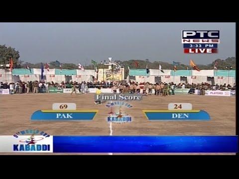 Pakistan vs Denmark   Men