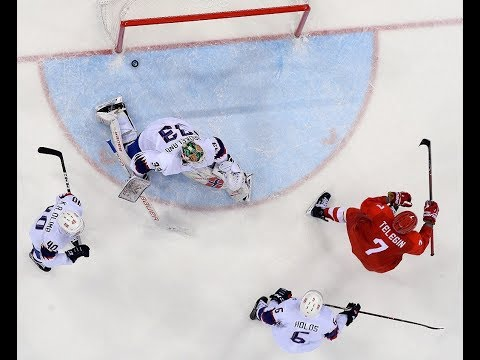 Хоккей. Россия - Норвегия 6:1 Олимпиада 2018 (Голы)