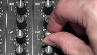How to use the mixer's EQ section