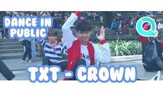 [Q!Project] TXT - Crown Dance In Public Challenge