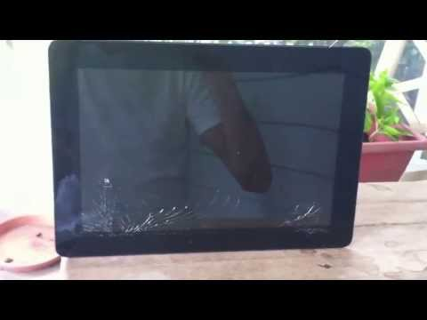ASUS Transformer Tablet Repair (case removal) - TF201 Eee Pad Prime Digitizer LCD Screen Replacement