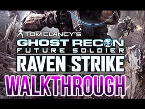 Ghost Recon Future Soldier Raven Strike Walkthrough DLC Part 1