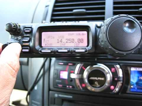 Yaesu FT-857D Install
