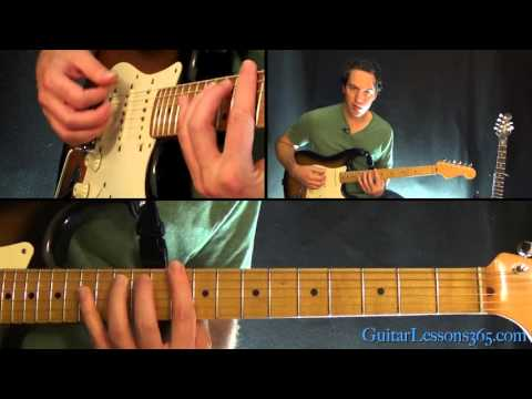We Are The Champions Guitar Lesson Pt1  Queen