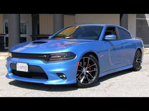 2015 Dodge Charger RT Scat Pack Start Up. Test Drive. and In Depth Review