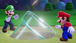 Captain Toad: Treasure Tracker - Ending Comparison + All Mario 3D World & Mario Odyssey Stages