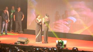 Dilwale dialogue by Shahrukh and Kajol at East Bengal ground in Kolkata